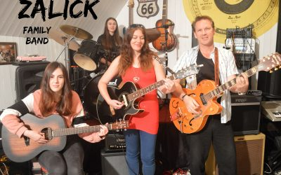 PLAYING TOGETHER NICELY – our lockdown family band